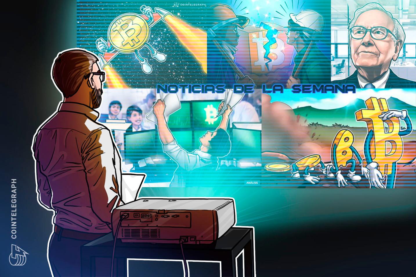 Top criptonoticias de la semana: Warren Buffett es pesimista sobre el mercado, una visión de Bitcoin en diez años y mucho más