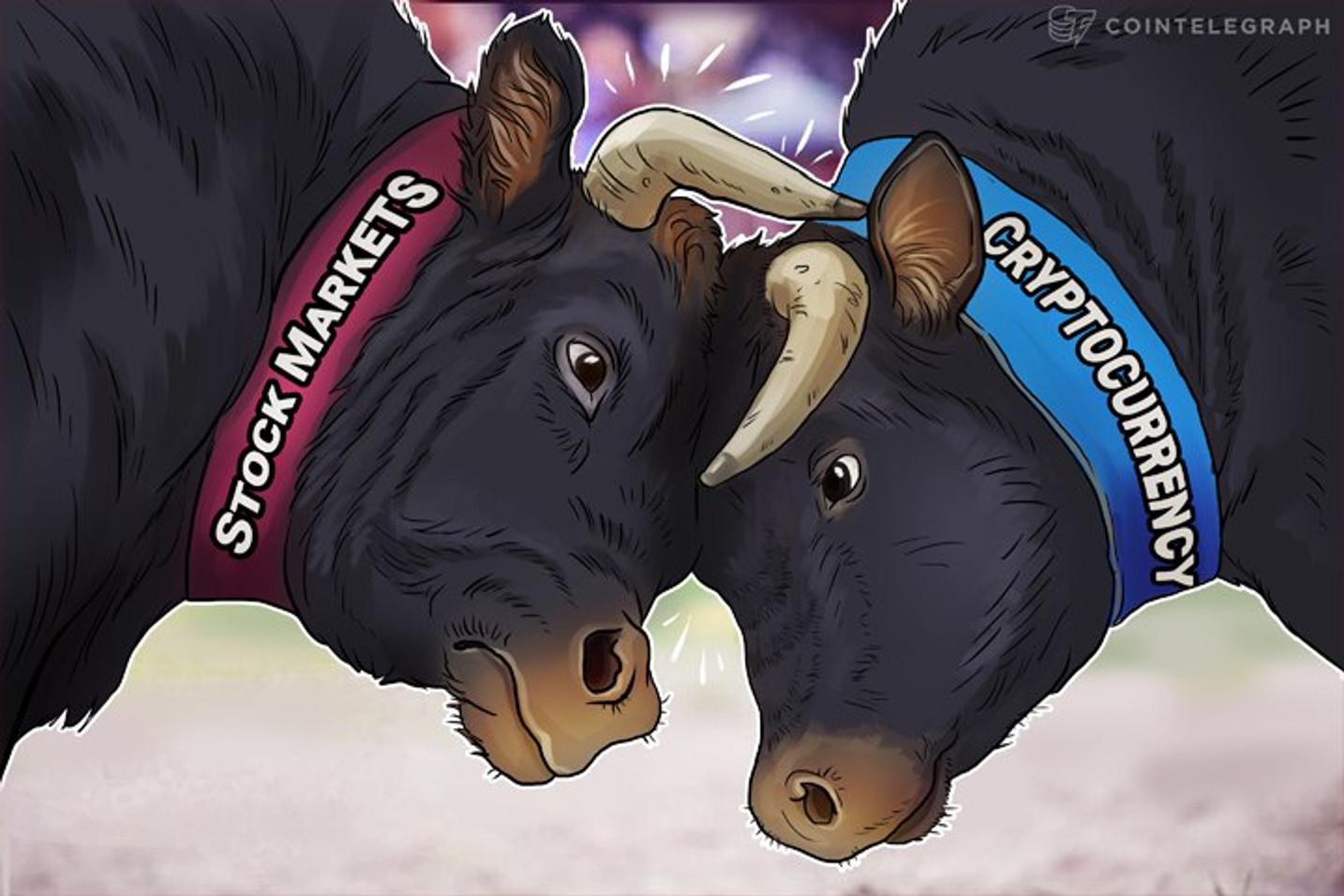 2017 Market Performance: Crypto vs. Stocks