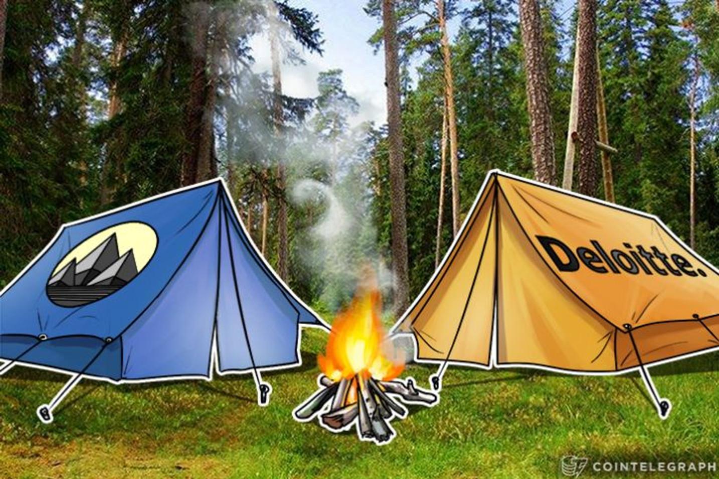 DeloitteがスポンサーとしてEther Campのハッカソンに参加