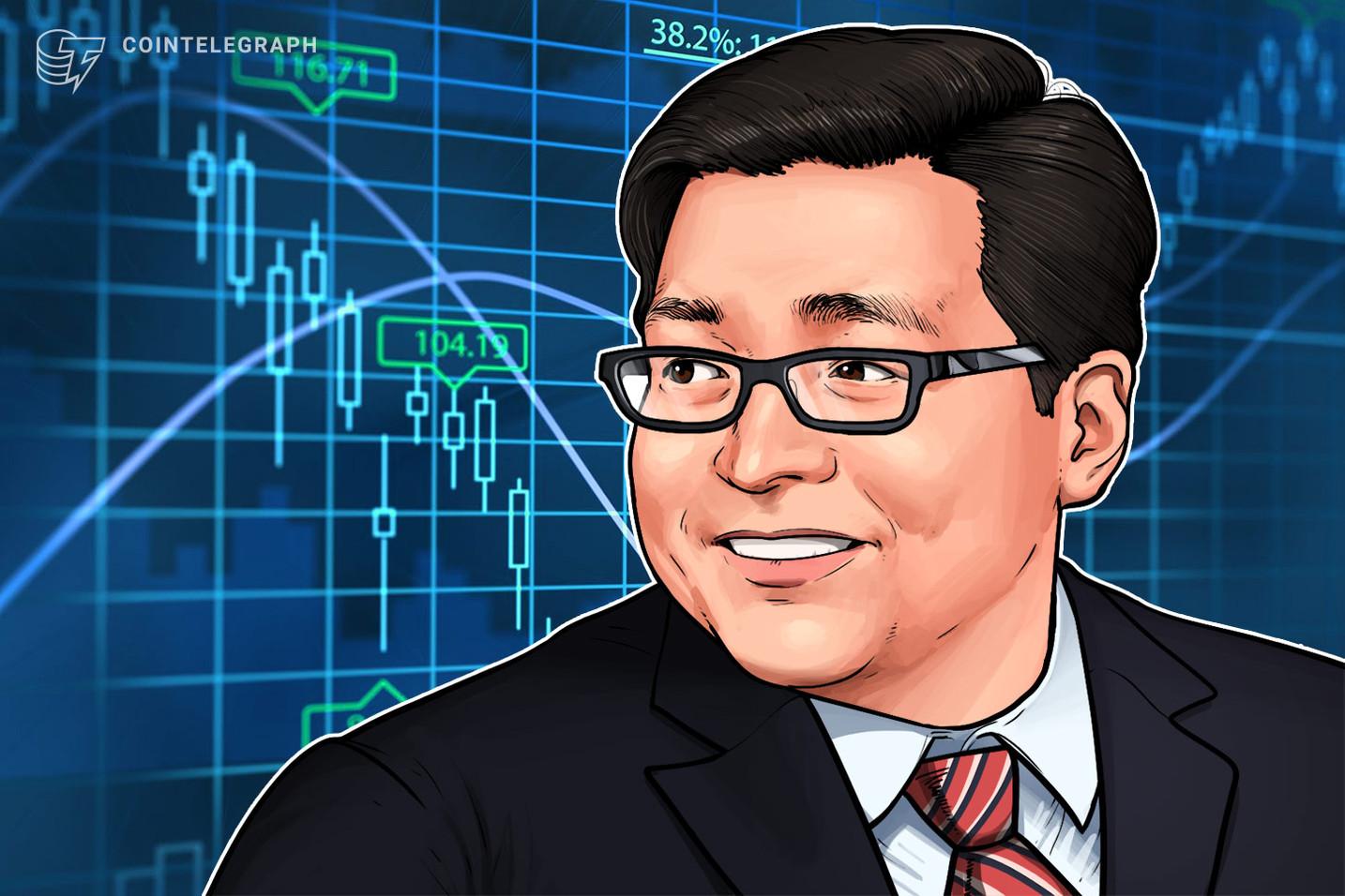 L'attuale mercato ribassista è un ottimo momento per acquistare criptovalute, ha affermato Tom Lee