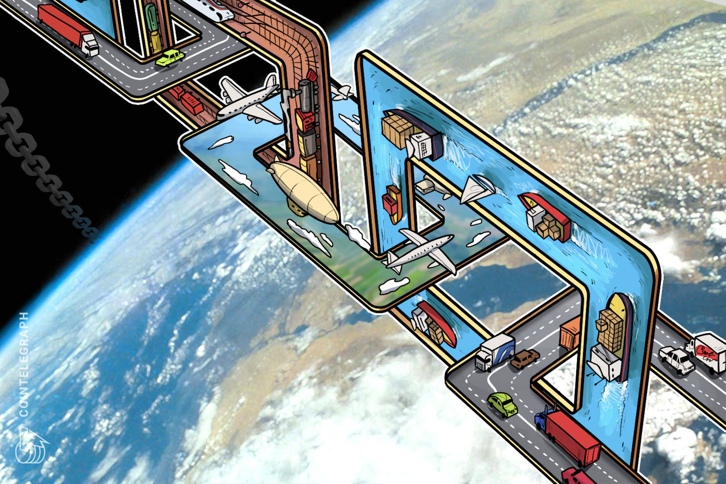 Indonesia to Improve Its Shipping Industry With New Multi-Million Blockchain Project