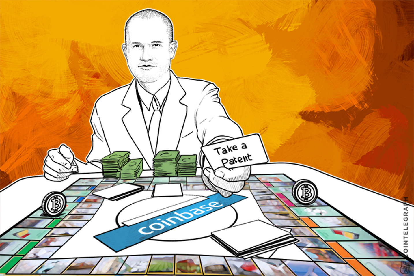 Coinbase on Bitcoin Patents: 'Don't Hate the Player, Hate the Game'