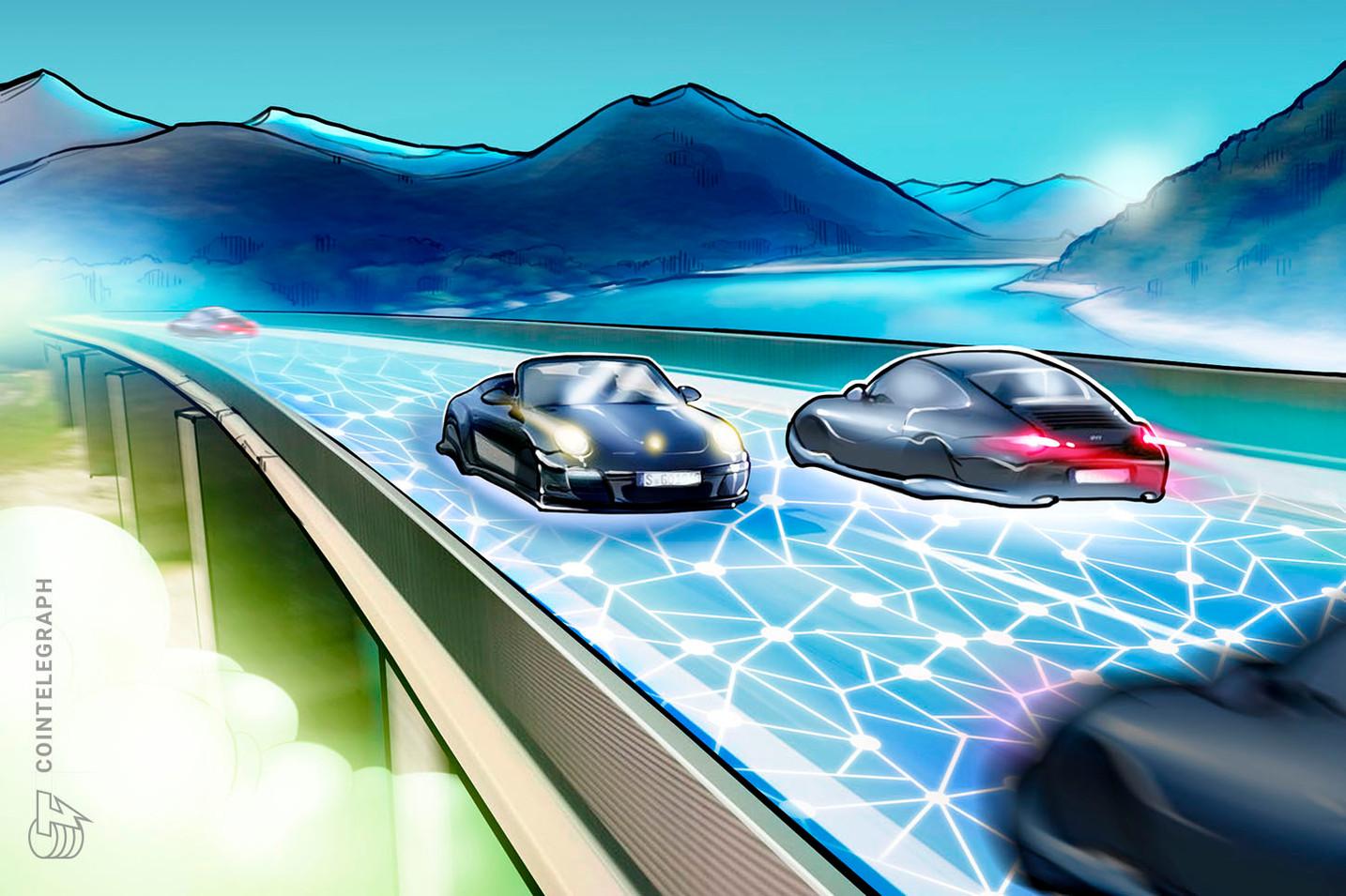 Porsche investe em startup blockchain com rodada de financiamento de US$ 6.000.000