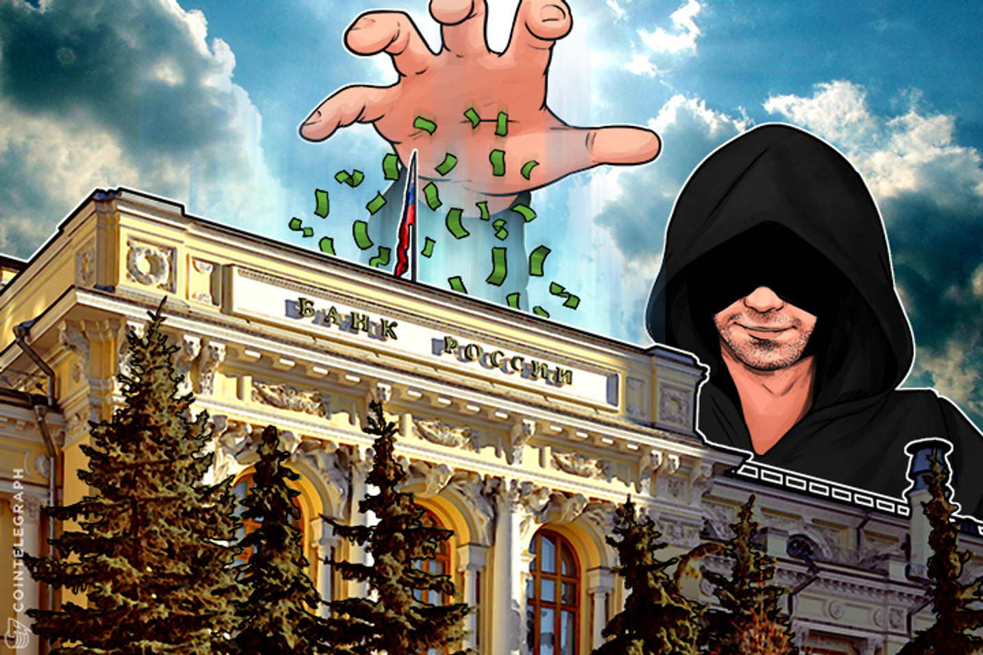 Hackers Steal $32 Mln From Russian Central Bank, Trustless Bitcoin Offers More Security