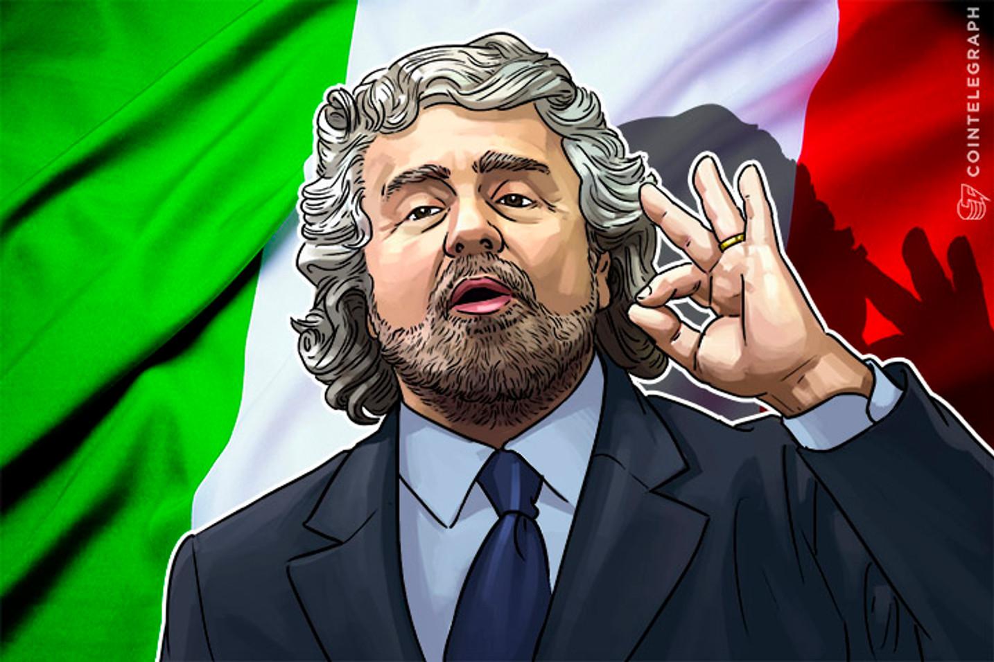 Beppe Grillo's Bitcoin Blockchain: Truth or Joke