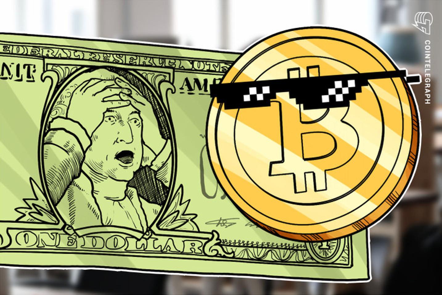 Com dólar em alta, preço do Bitcoin recupera nível de janeiro em exchanges do Brasil