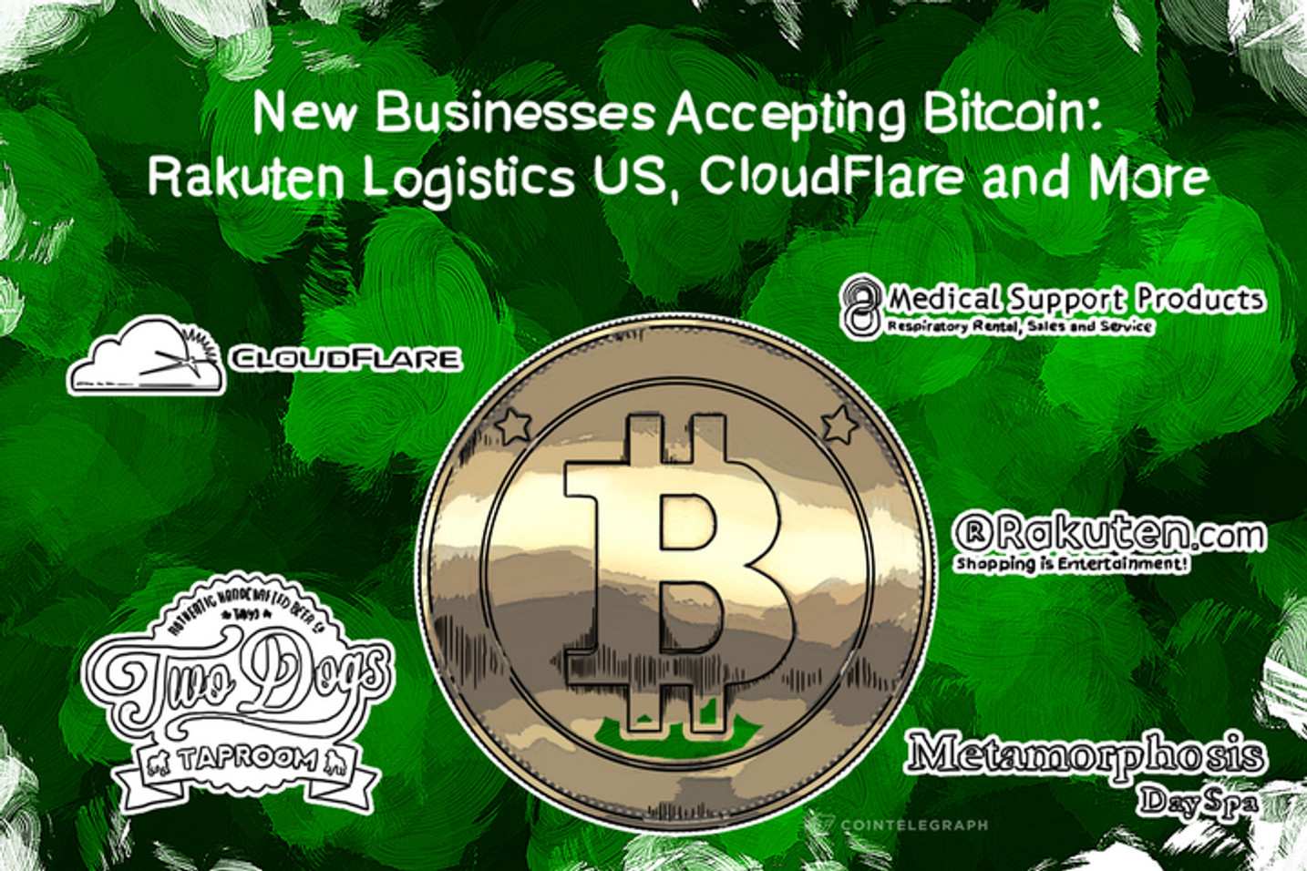 New Businesses Accepting Bitcoin: Rakuten Logistics US, CloudFlare, Radical.FM and More