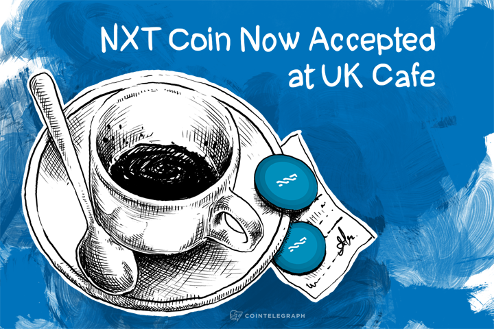 NXT Coin Now Accepted at UK Cafe