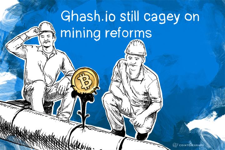Ghash.io still cagey on mining reforms