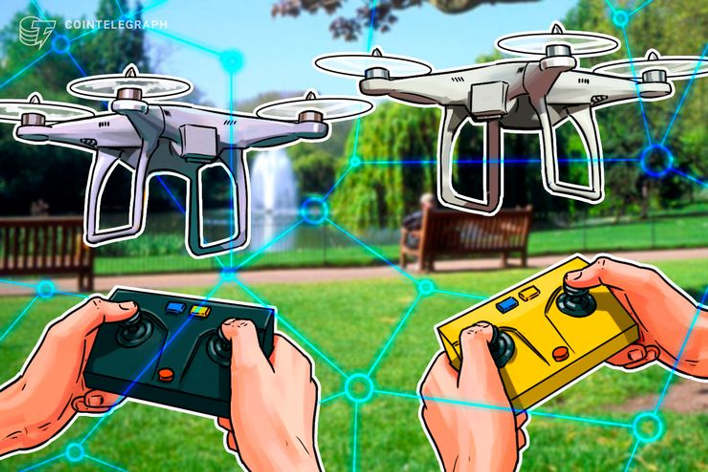 Österreichisches Startup setzt für Industrie-Inspektionen auf Drohnen und Blockchain