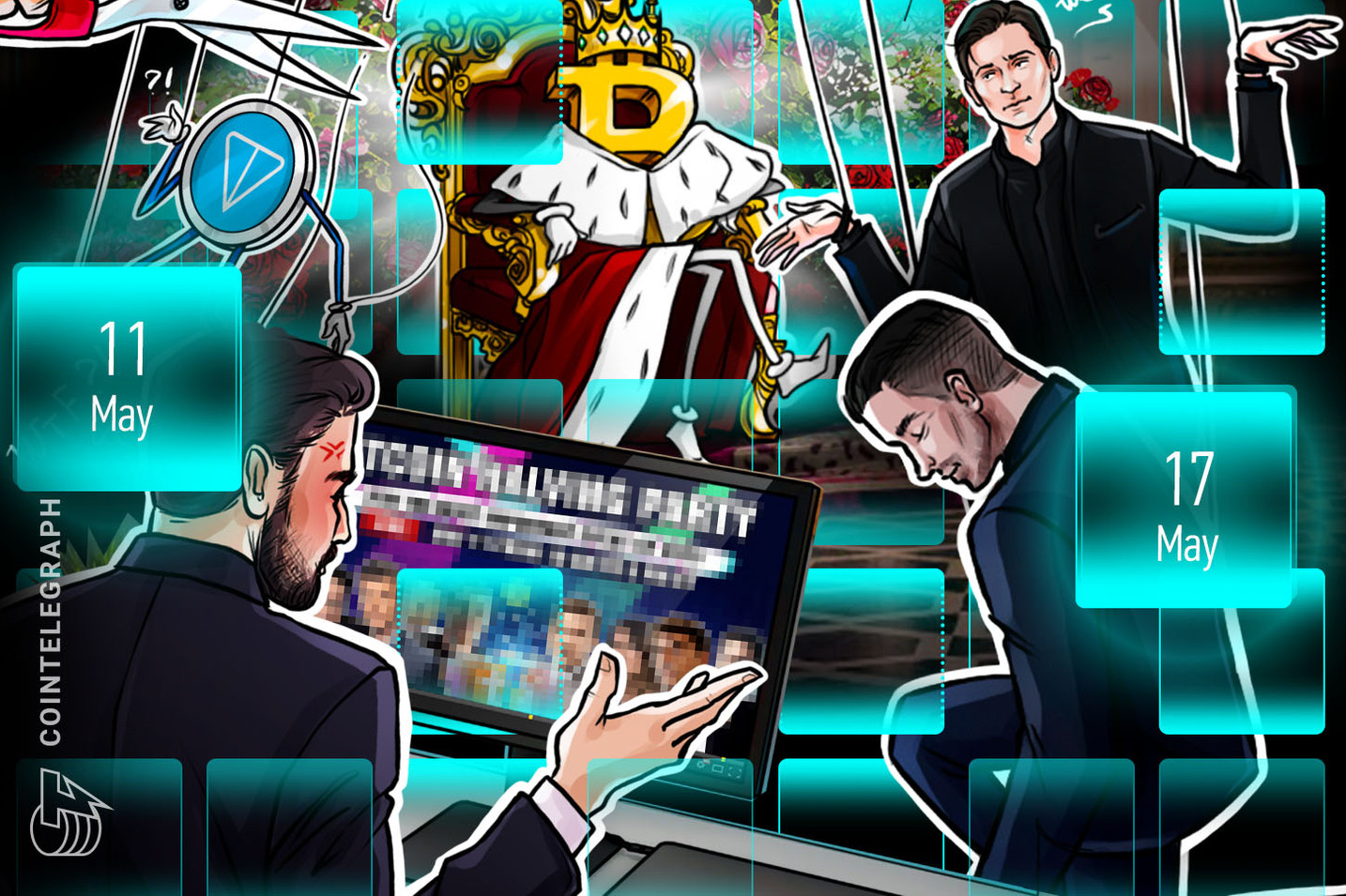 Bitcoin Breakout Hopes, R.I.P. TON, Trump Threatened: Hodler's Digest, May 11–17