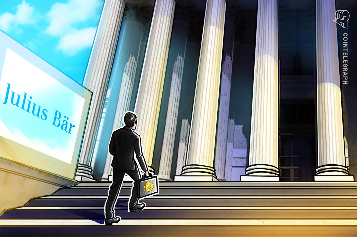 El gigante bancario suizo Julius Baer ofrecerá servicios de criptoactivos a sus clientes