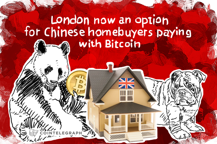 London now an option for Chinese homebuyers paying with Bitcoin