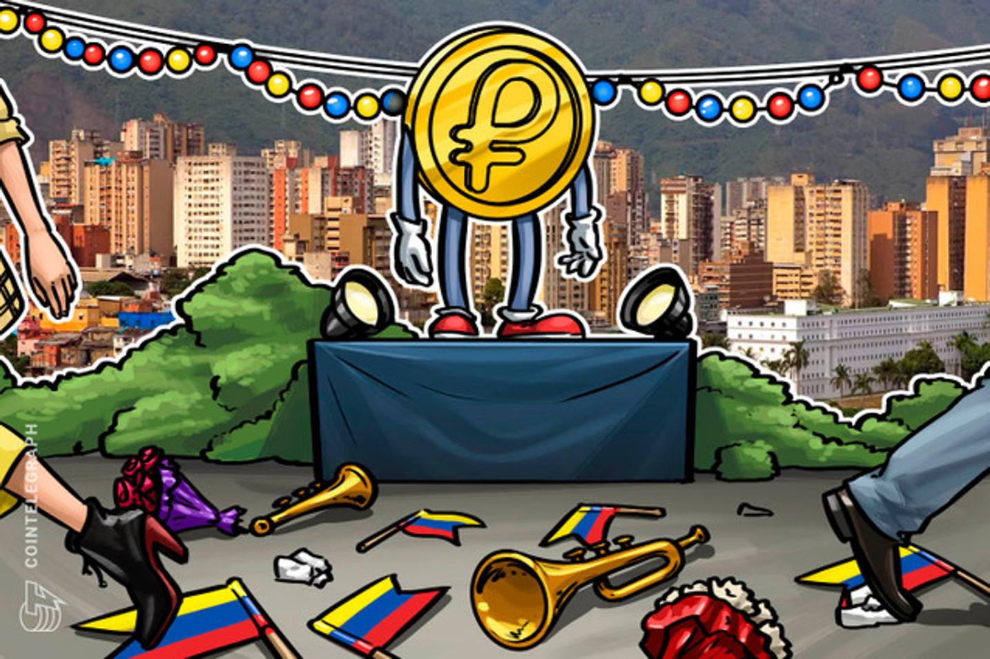 Gobierno de Venezuela lanza nueva casa de intercambio de criptomonedas para adquirir Petros