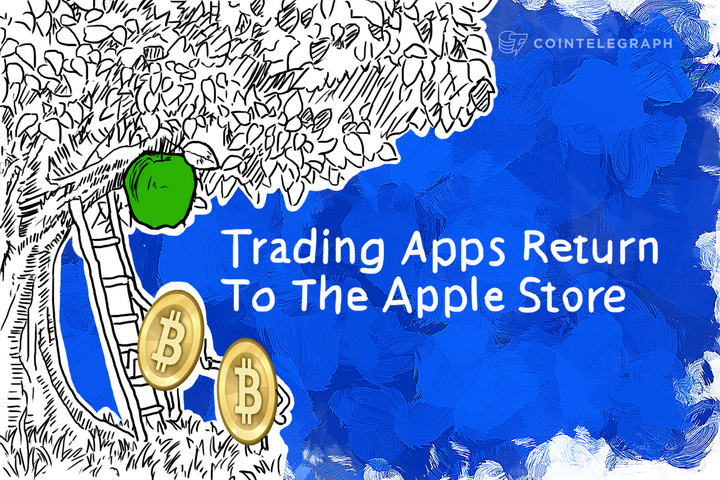 Trading Apps Return To The Apple Store