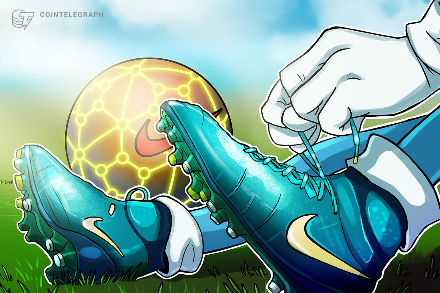 Nike Patents a System for Tokenizing Shoes on Ethereum's Blockchain