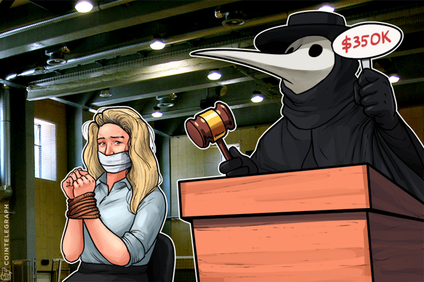 How Kidnappers Tried to Auction British Model for Bitcoin