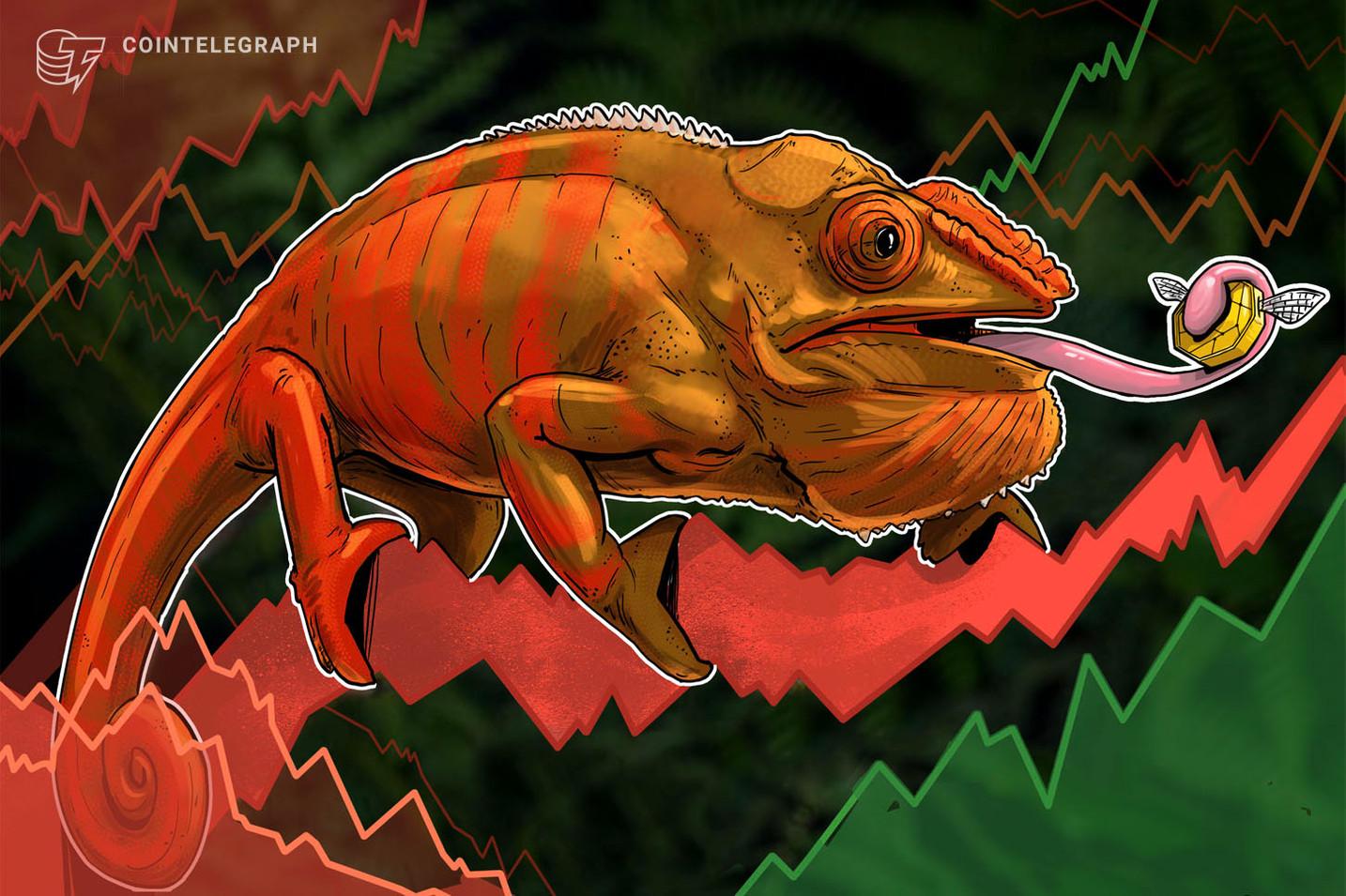 Kryptomärkte bewegen sich seitwärts, Ölmarkt verliert leicht