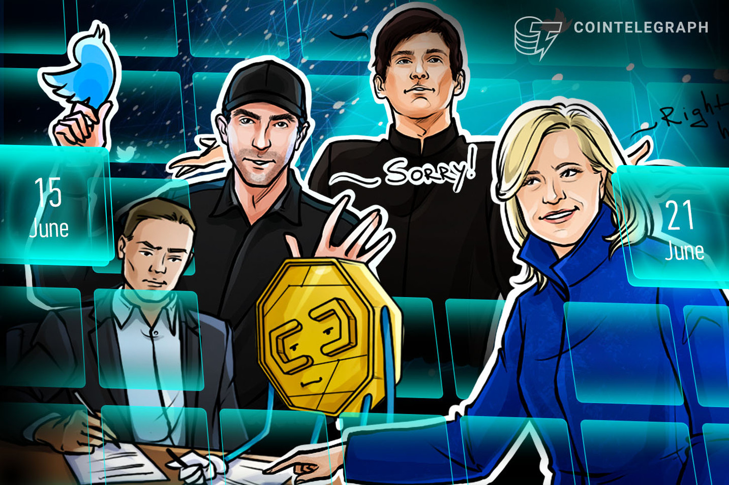 Bitcoin's Battle, Robinhood Tragedy, $2.1B Black Hole: Hodler's Digest, June 15–21
