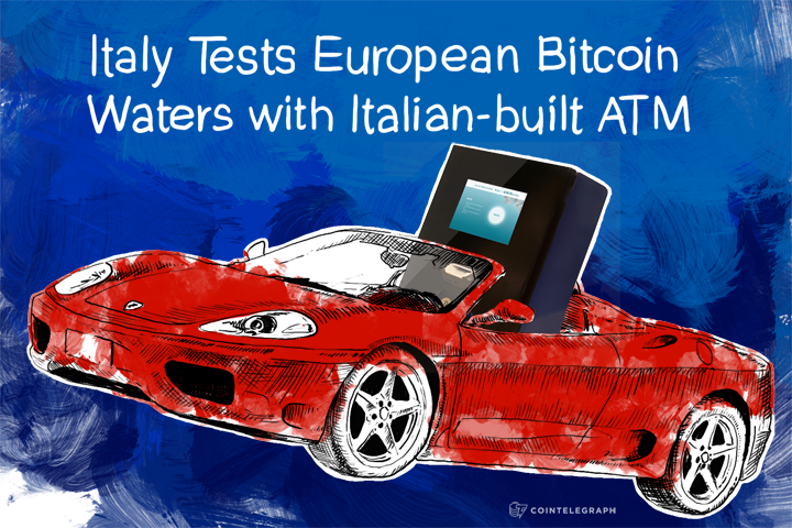 Italy Tests European Bitcoin Waters with Italian-built ATM
