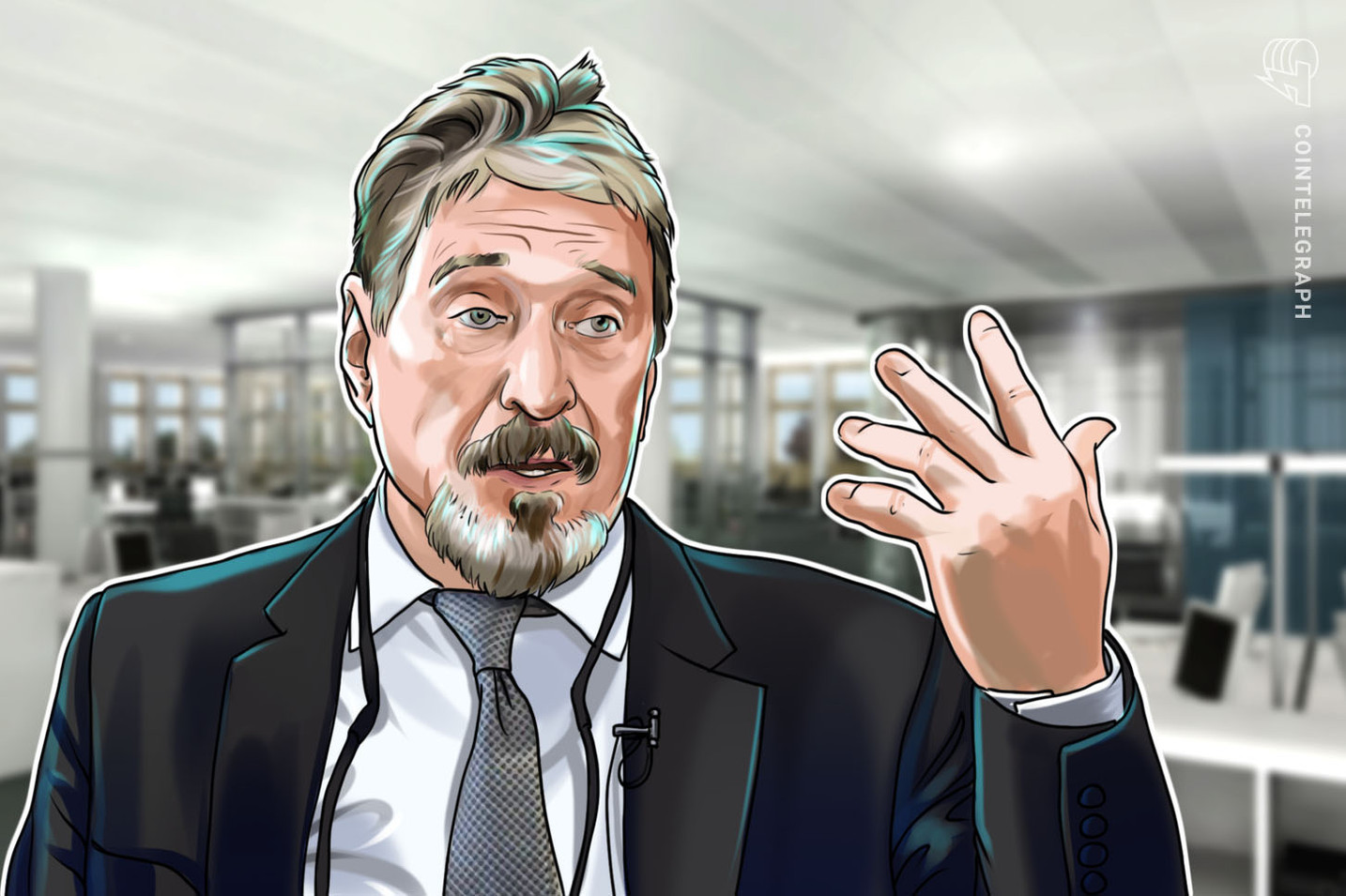 'Worthless Coin' — McAfee Says He Never Believed Bitcoin Would Hit $1M