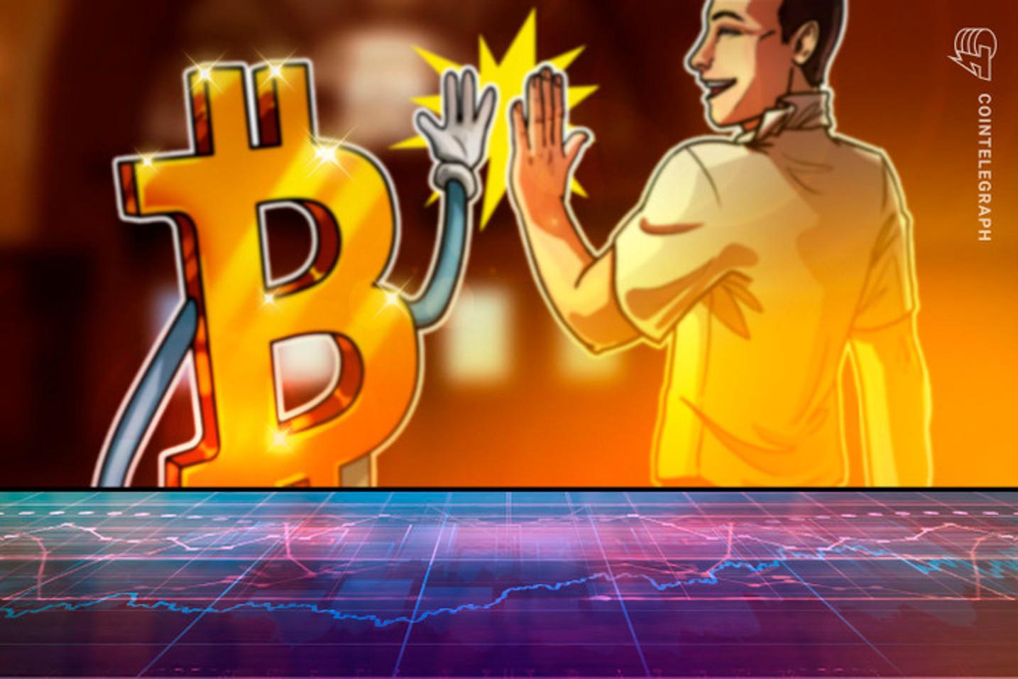 Enquanto o Bitcoin retoma os US$31 mil, três tokens sobem até 24% em um dia