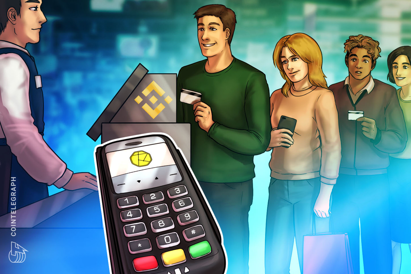 Binance Now Lets Users Buy 5 Cryptocurrencies with Debit, Credit Card