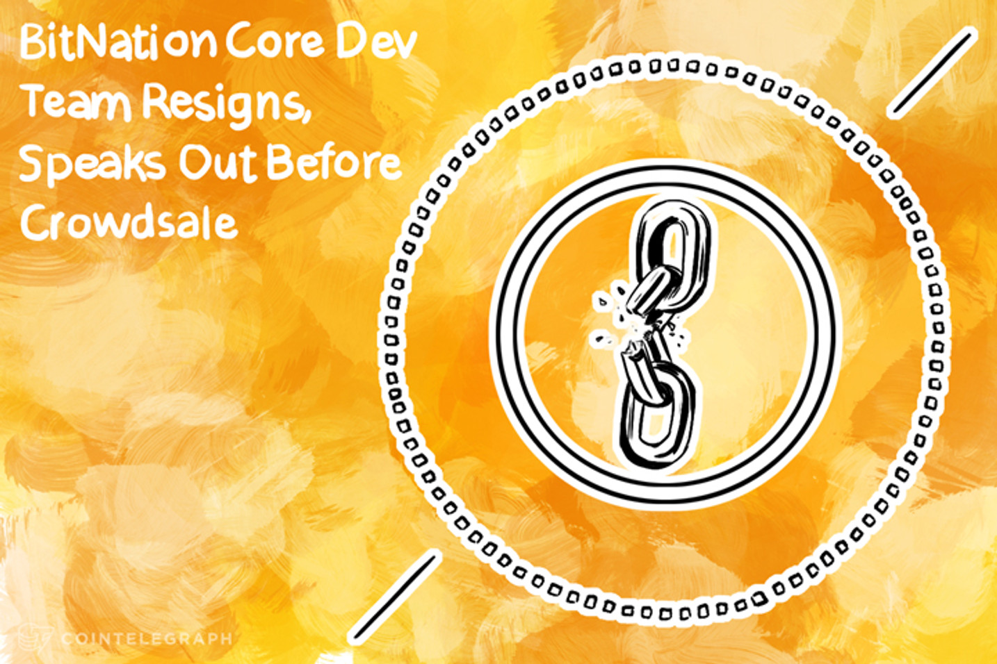 Bitnation Core Dev Team Resigns, Speak Out Before Crowdsale