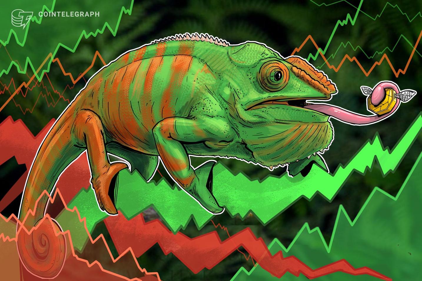 أسواق العملات المشفرة تشهد إشارات مختلطة، وبيتكوين لا يزال فوق ٤٠٠٠ دولار