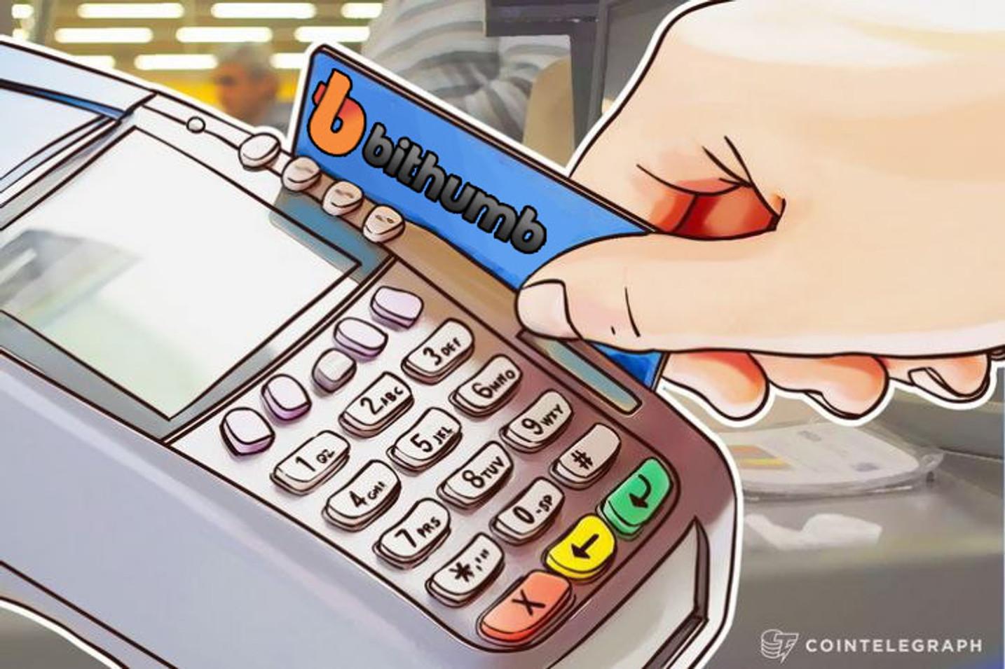 A casa de câmbio Bithumb quer trazer pagamentos em cripto para 8K comerciantes sul-coreanos até 2019
