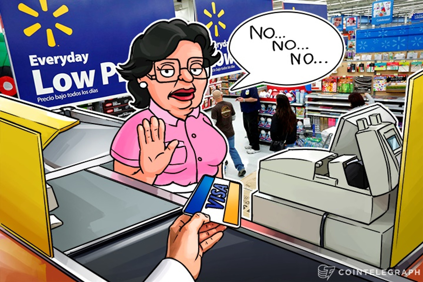 Walmart Canada Says No to Visa, Can Bitcoin Step In?