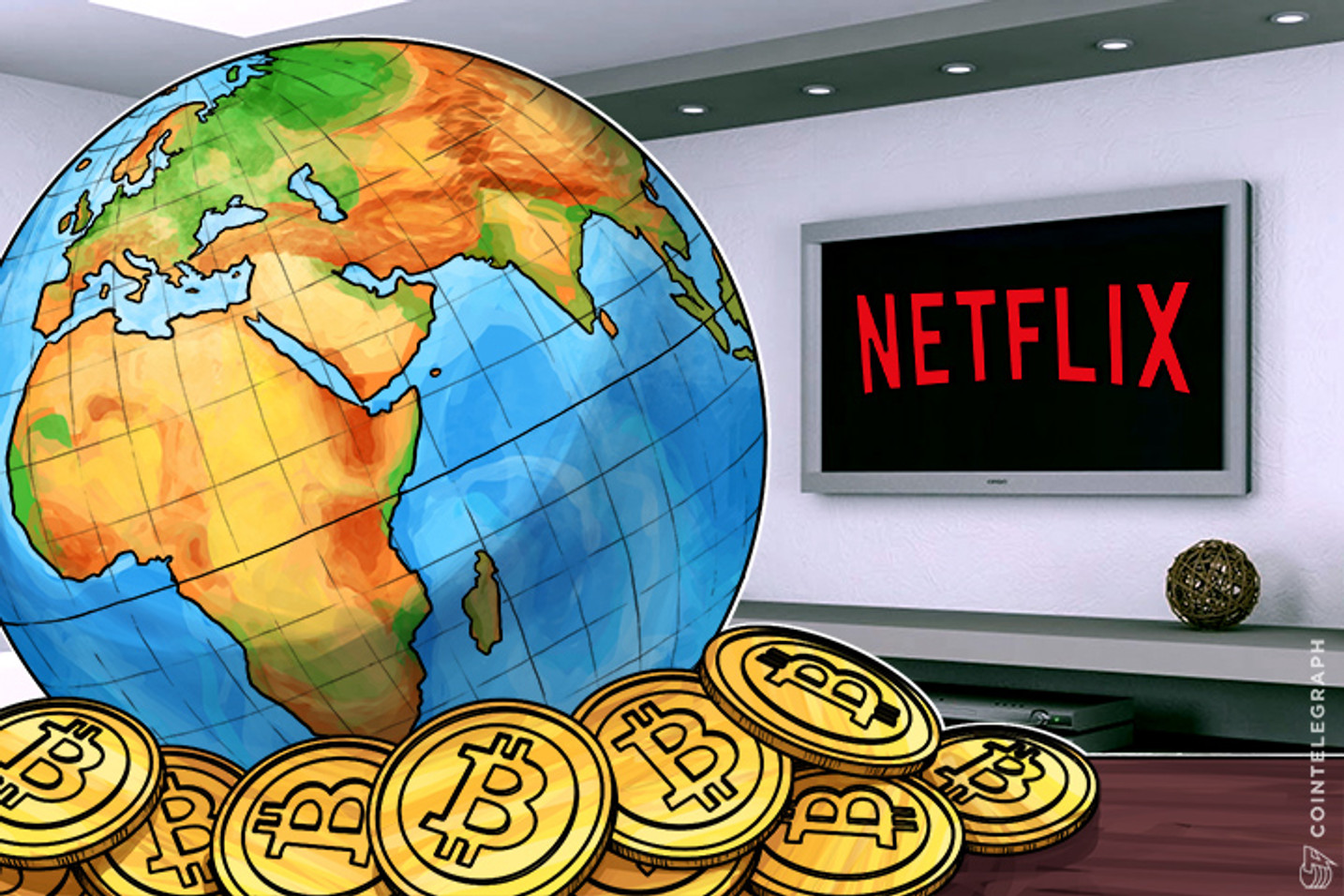 Netflix Executive Wants Bitcoin as Global Currency, Considers It Cost-Effective