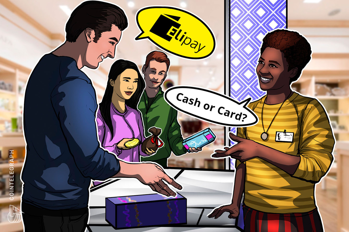 Cash, Card or Crypto? — Platform Helps Stores Accept Digital Payments