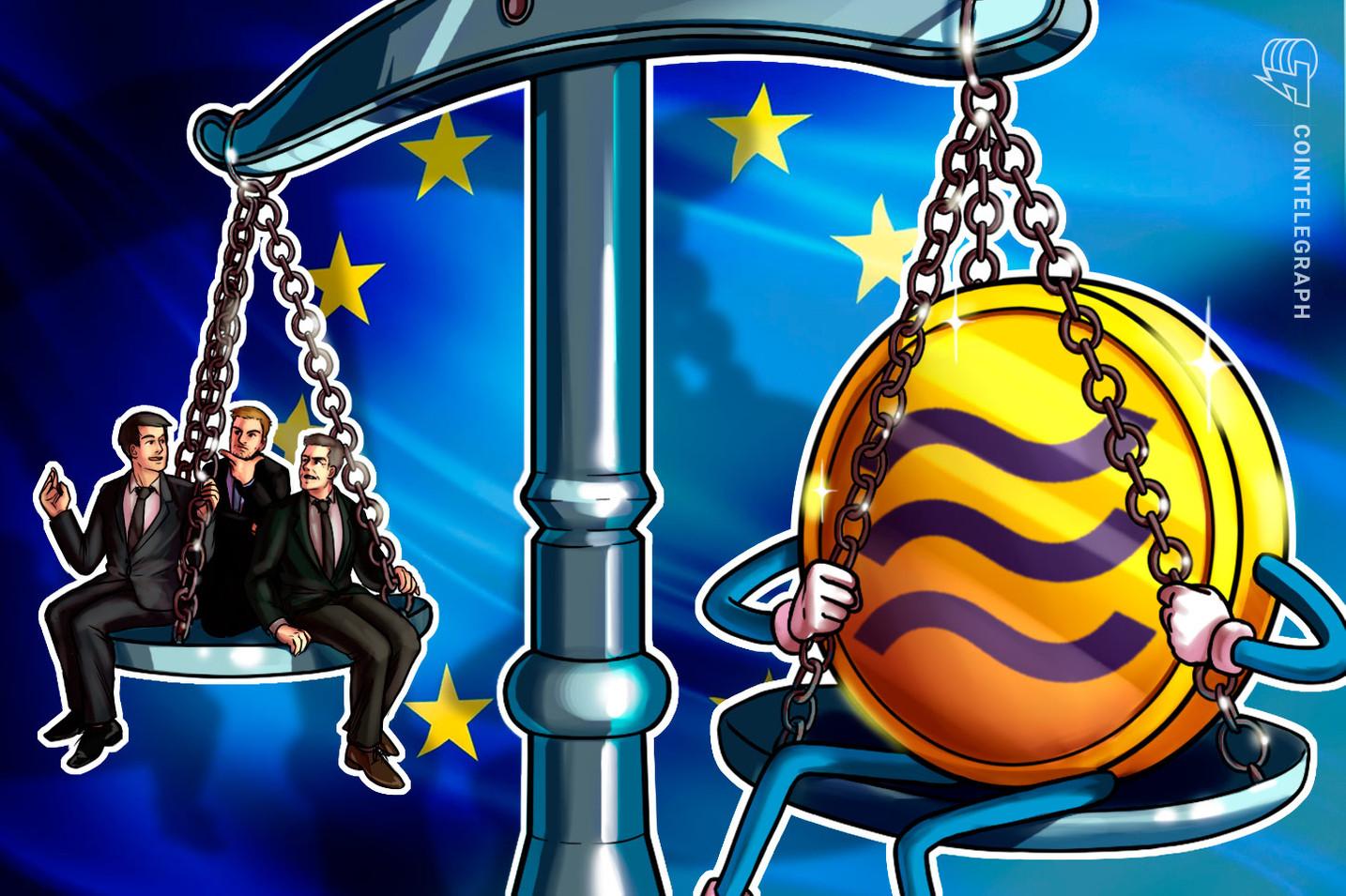 Informe: Cinco países de la Unión Europea se unen para bloquear Libra