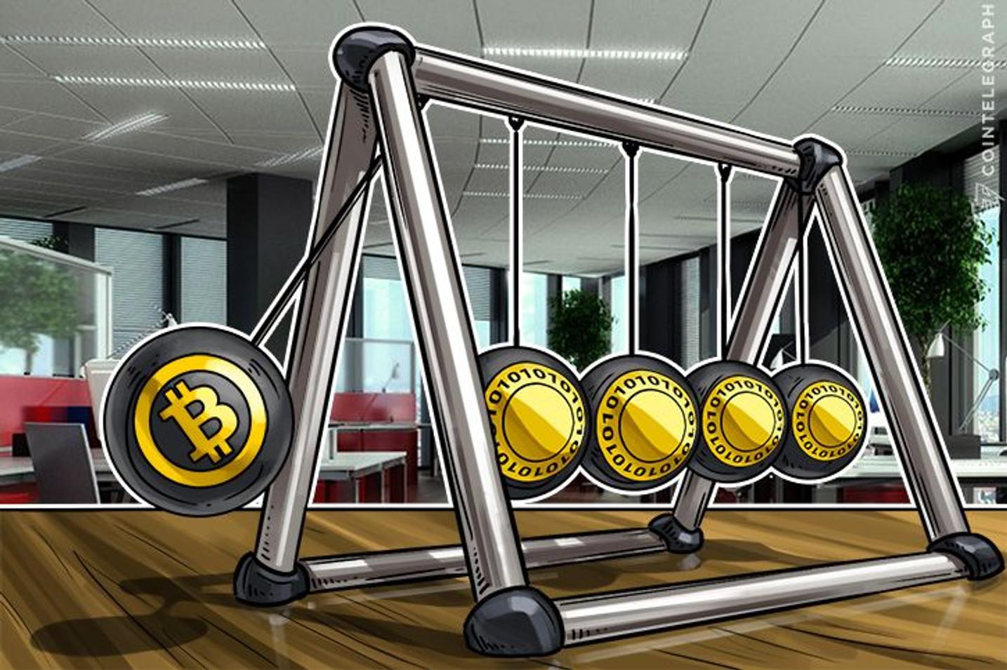 En lugar de $ 4.200, el Bitcoin actual costaría $7.000 si tuviese el dominio del mercado previo al 2017: Alistair Milne