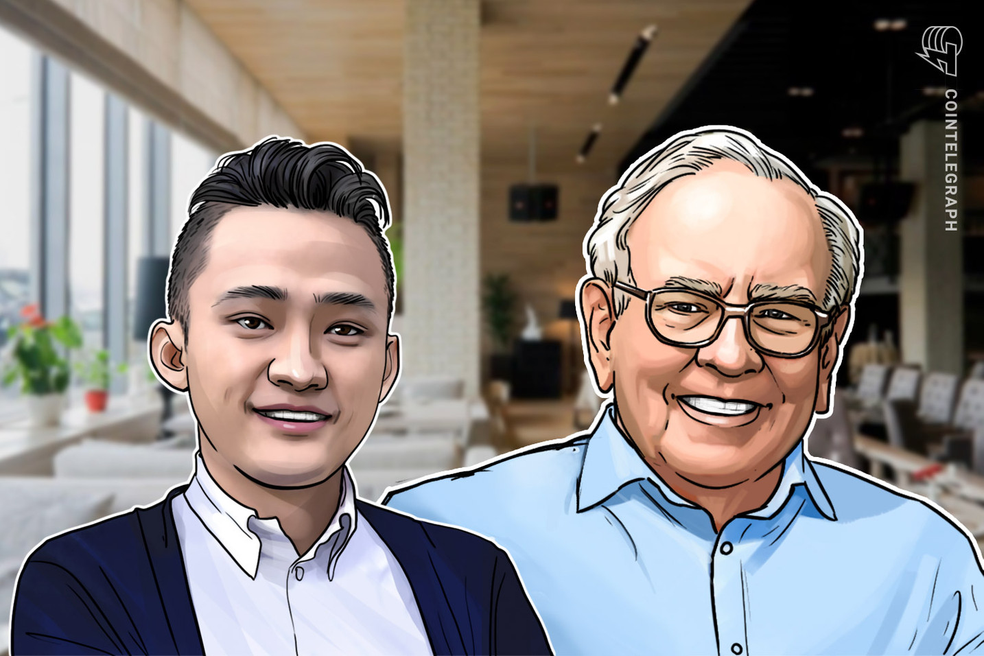 Tron Founder Justin Sun Finally Met With Warren Buffett for Charity Lunch