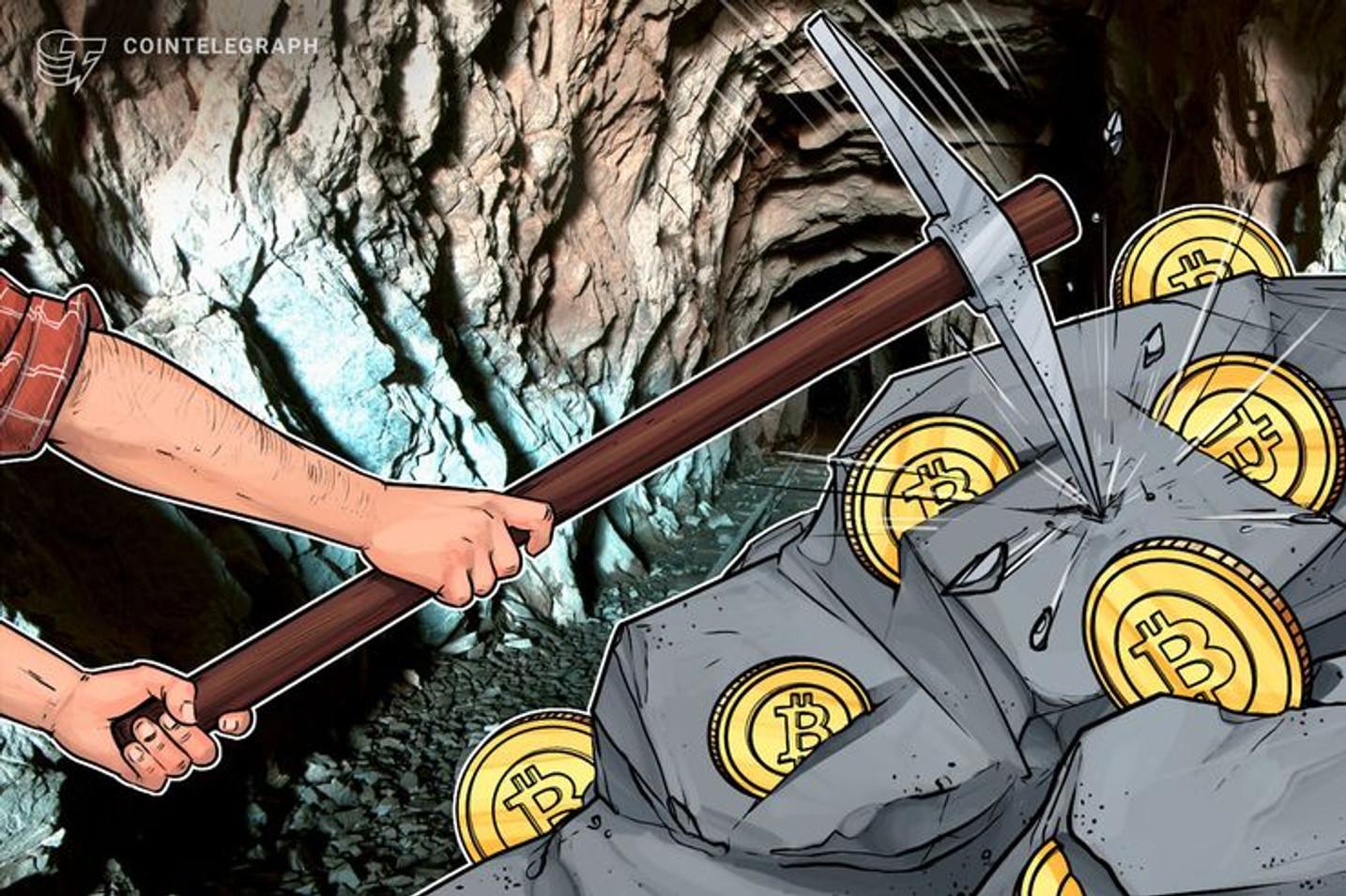La tasa de hash de Bitcoin aumenta un 64% antes del halving y análisis indica que el precio subirá