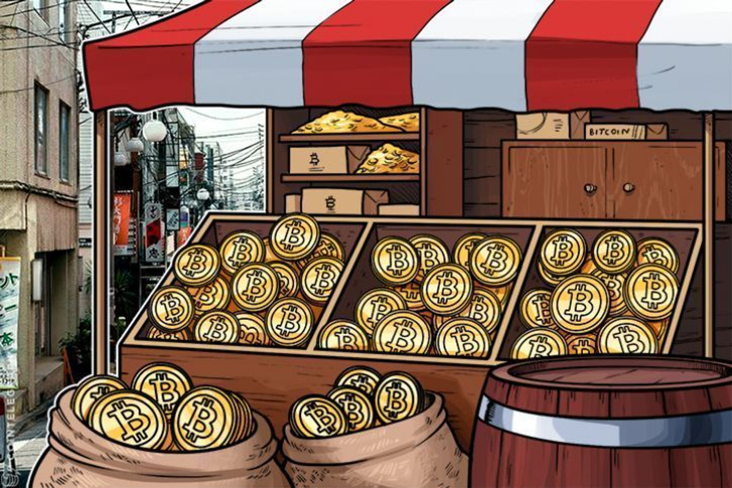 Market Mania? Small Cap Stock Explodes on Blockchain Announcement
