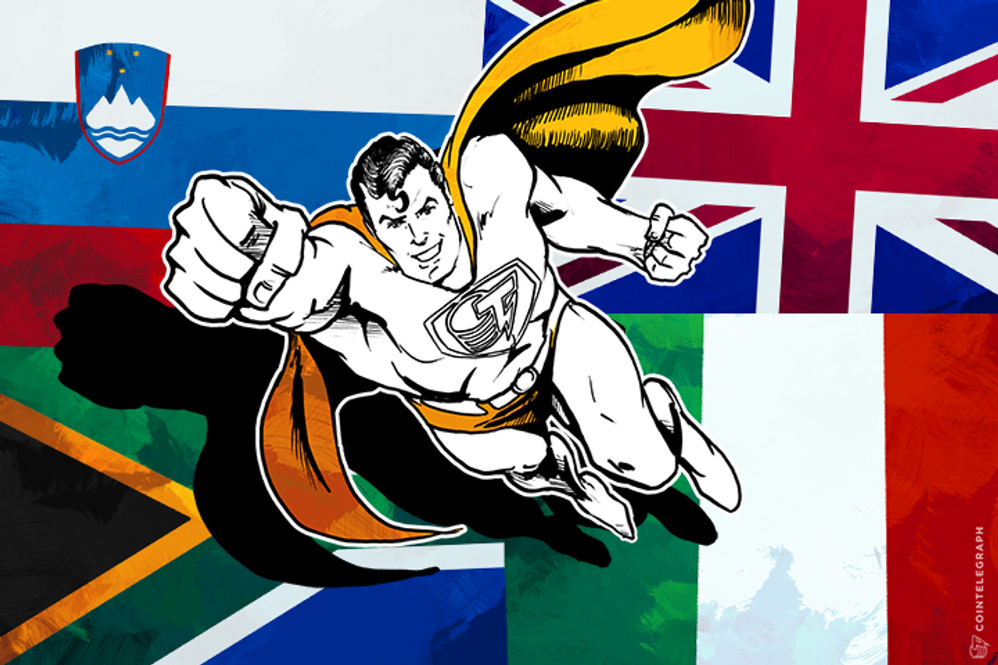 Cointelegraph Media Group Launches Regional Publications in South Africa, Italy, UK and Slovenia