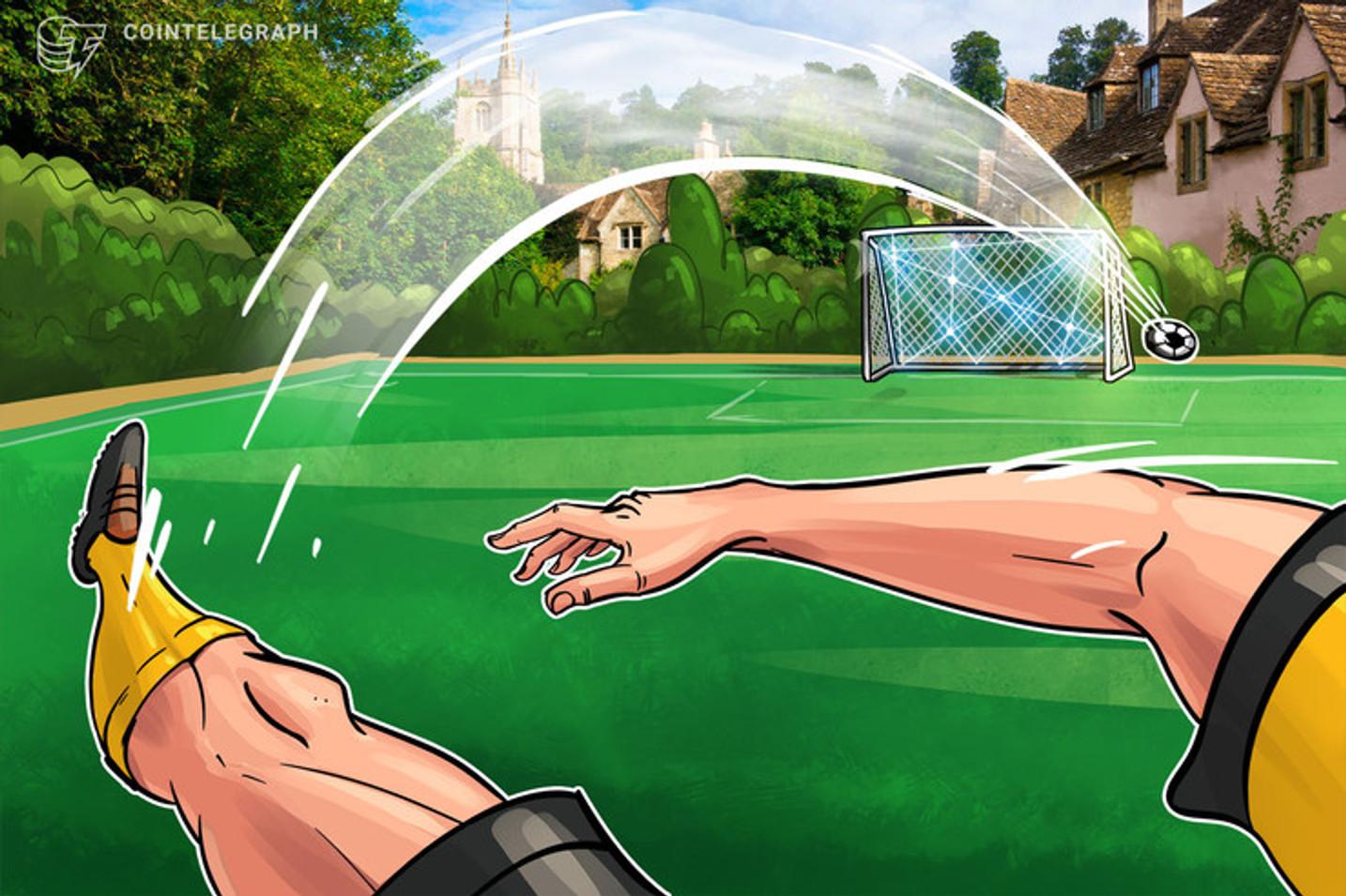 Plataforma de tokens para torcedores de futebol é lançada com distribuição de criptomoedas por realidade aumentada