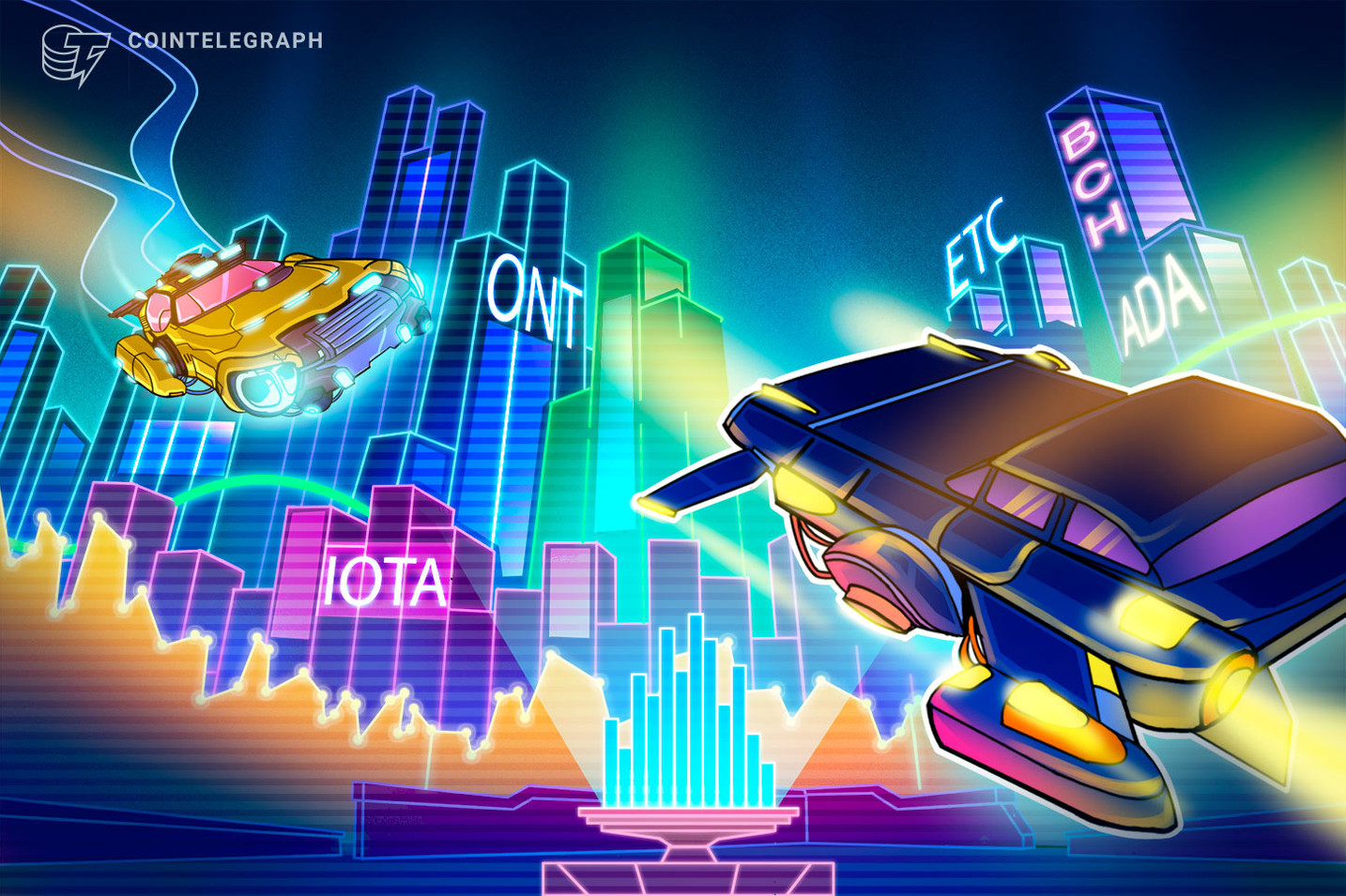 Top 5 Crypto Performers Overview: ONT, ADA, ETC, BCH, IOTA