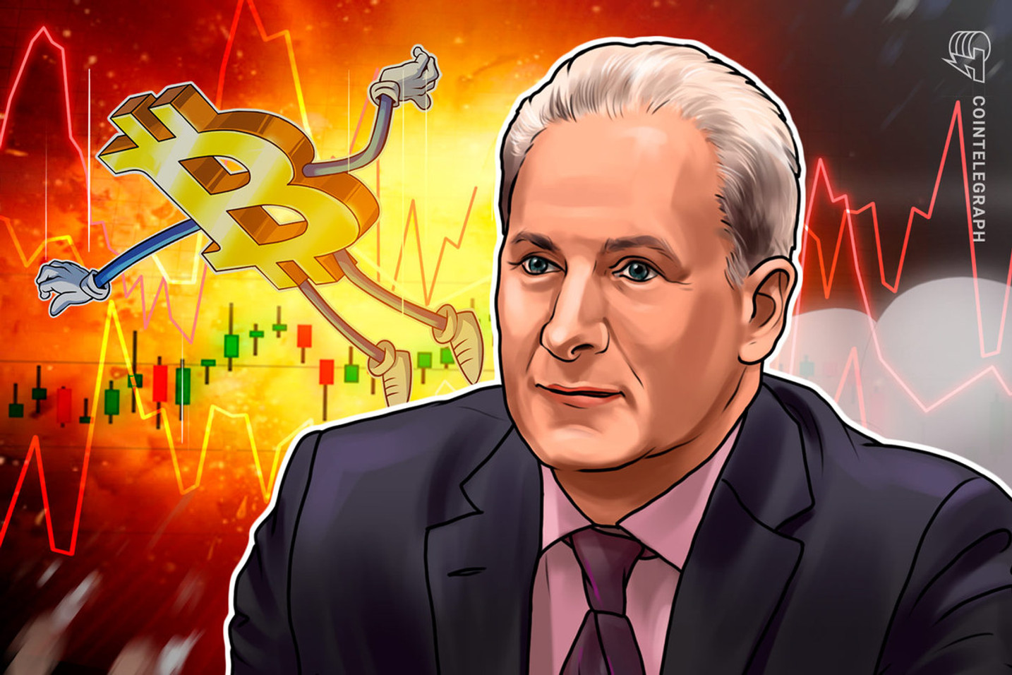 Peter Schiff Predicts Gold Will 'Moon' While Bitcoin Crashes