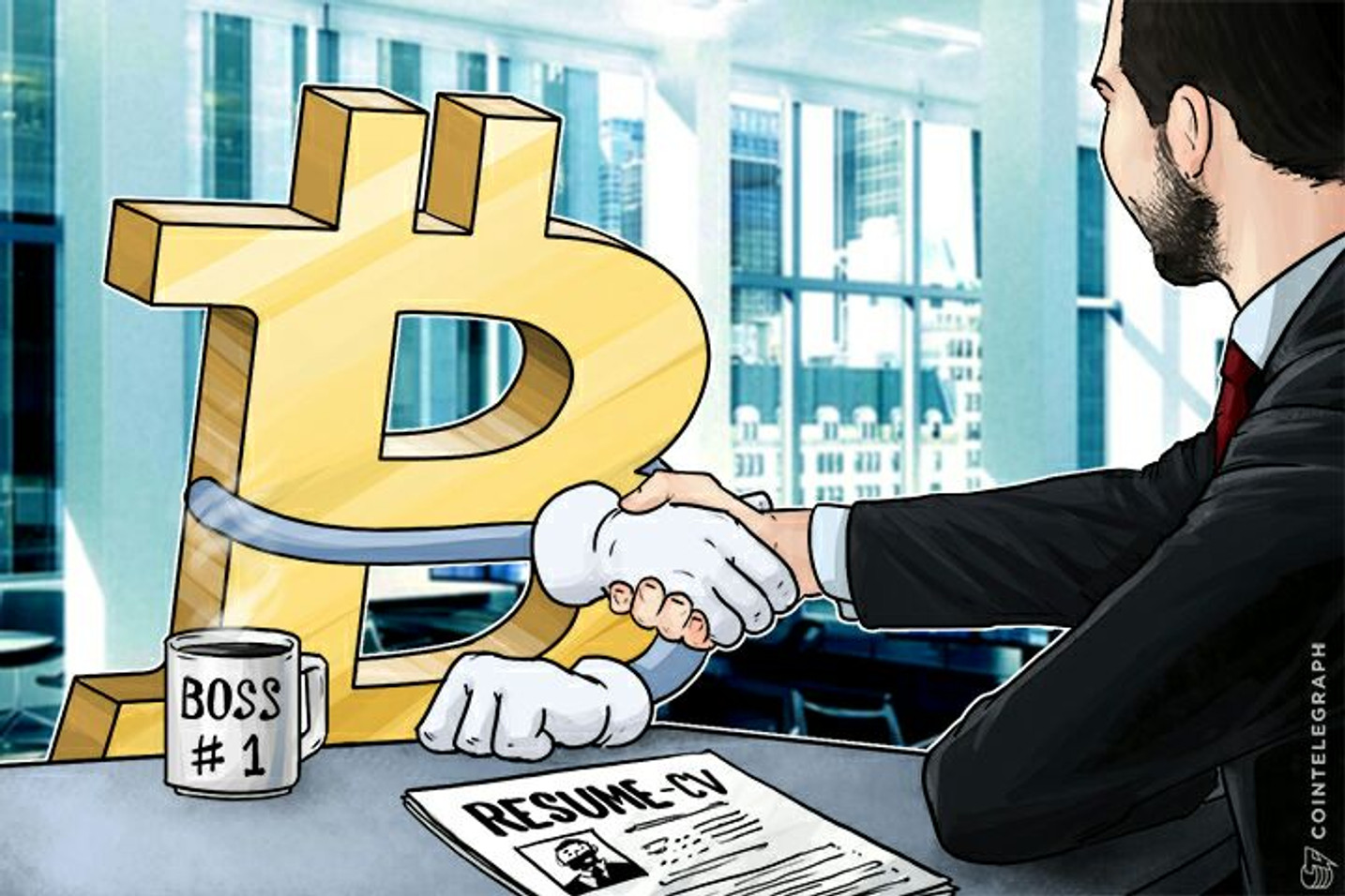 Bitcoin Blockchain is the Last Economic Fortress, Provides the Unbanked with Jobs