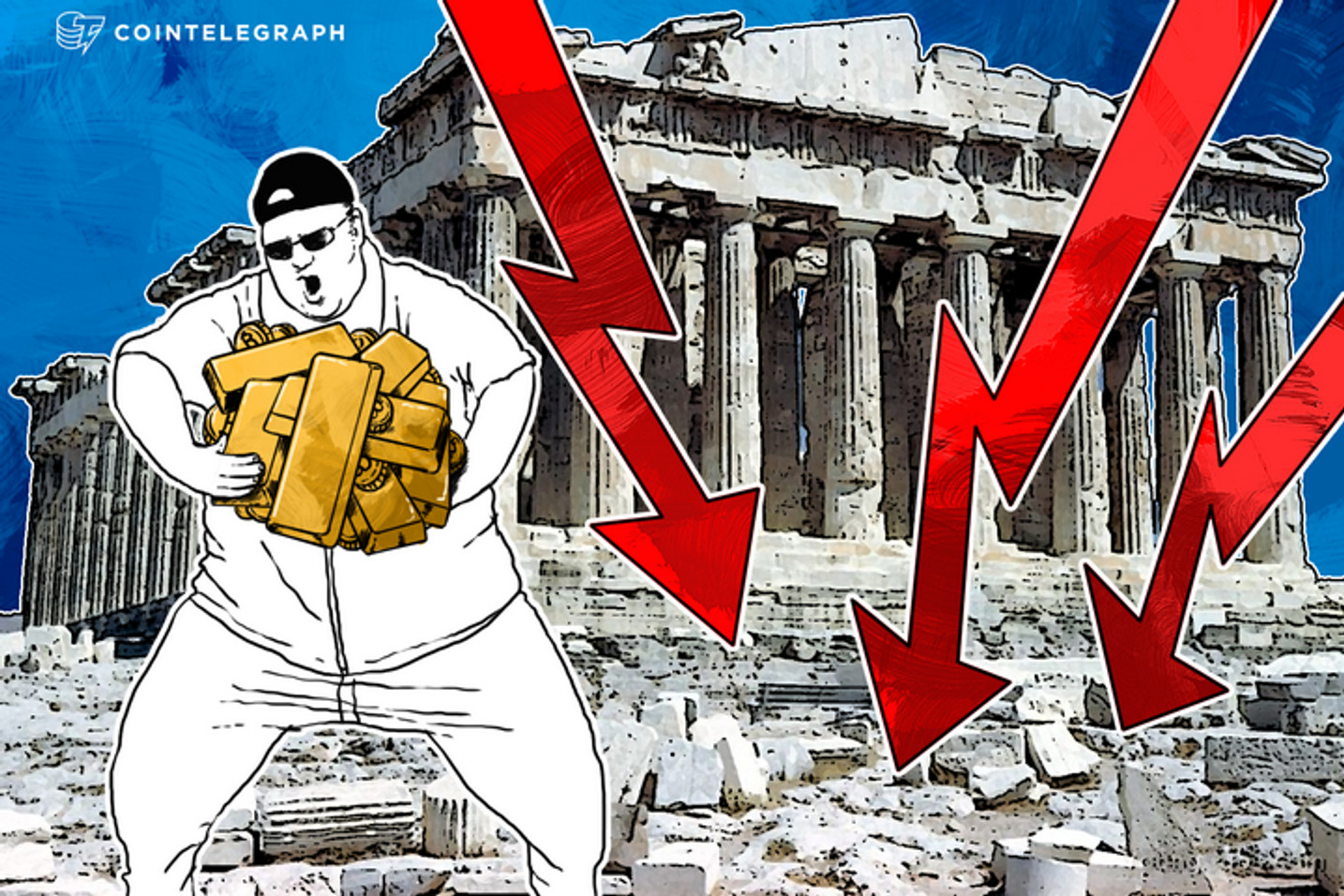 Kim Dotcom Says 'Greece Will Crash Market; Buy Bitcoin and Gold'