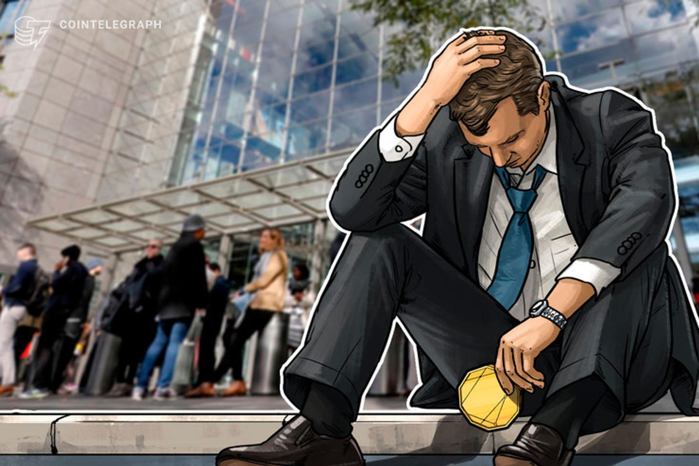 Sem luz, internet e e-mail, por falta de pagamento, Grupo Bitcoin Banco demite mais funcionários