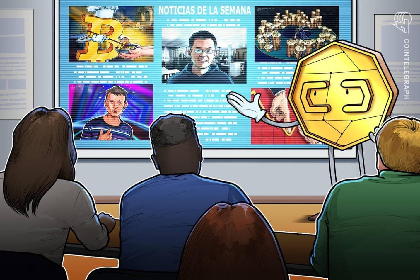 Top criptonoticias de la semana: Hiperbitcoinzación en 10 años, Vitalik Buterin ganando dinero con DogeCoin y mucho más