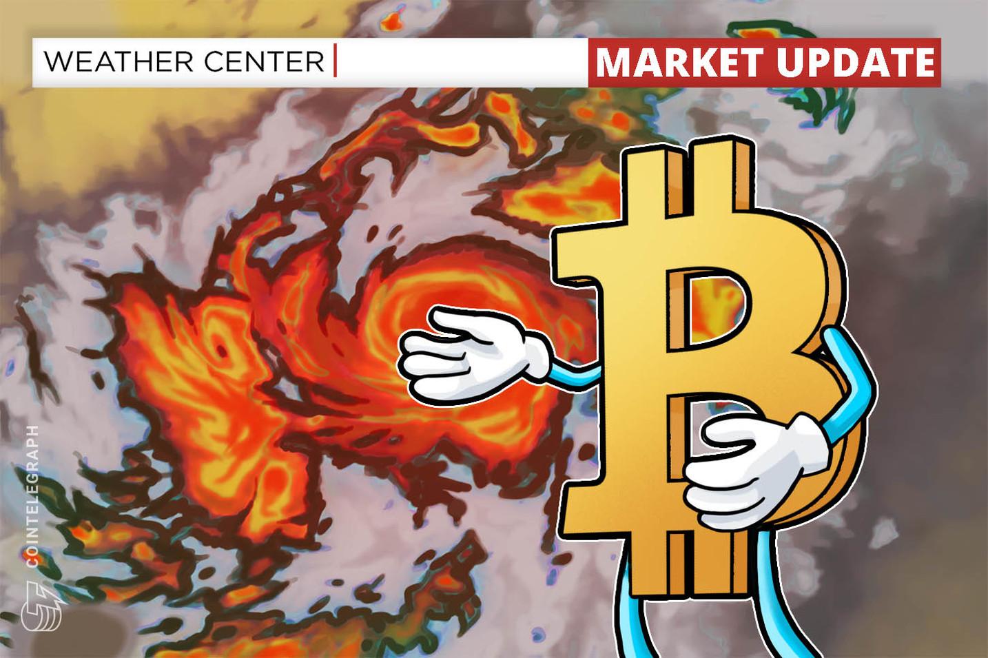 El precio de Bitcoin cae un 15% y la marca de USD 4,500 queda como soporte