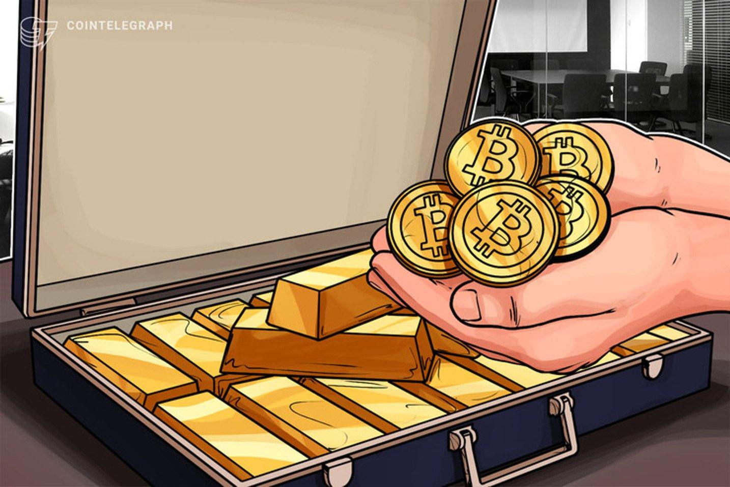 仮想通貨ビットコインはやはりデジタルゴールド、金との相関過去最高に