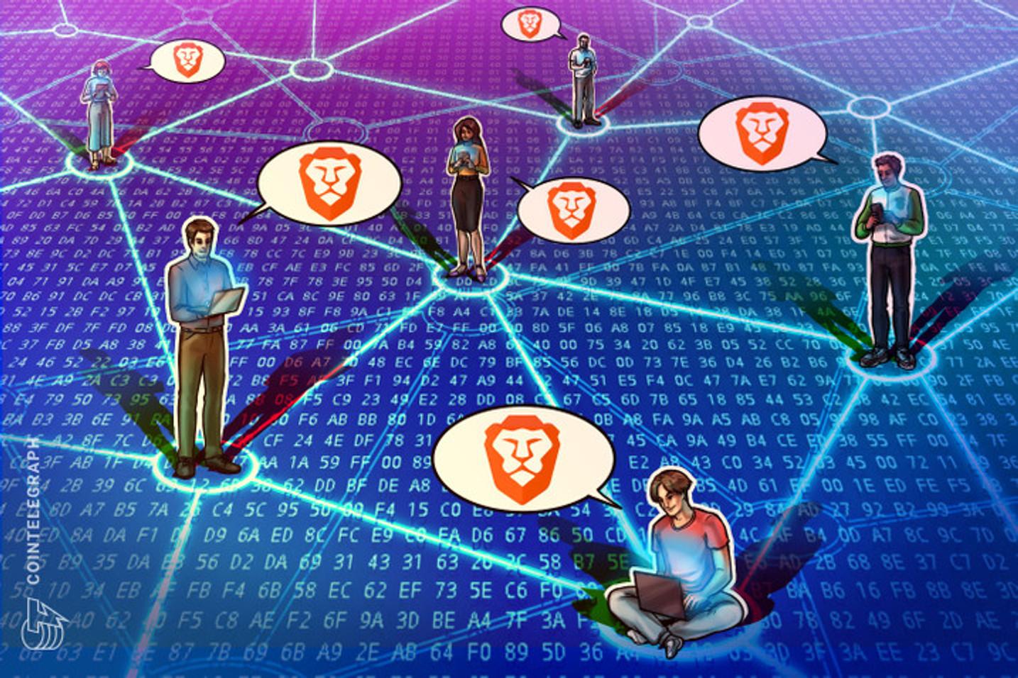 Navegador Brave atinge 15 milhões de usuários ativos