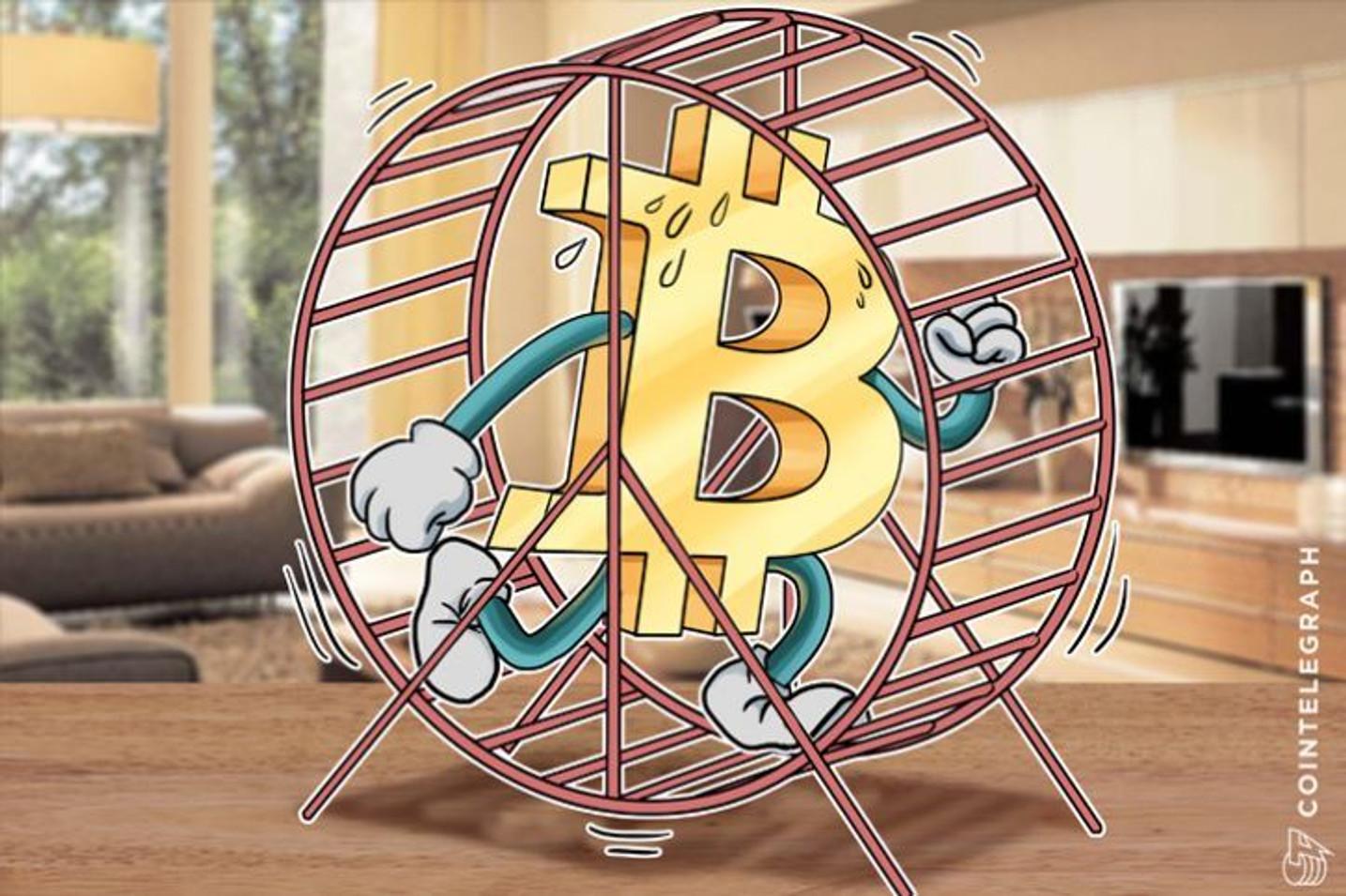 Bitcoin Mempool Drops 90% Despite Localbitcoins Records